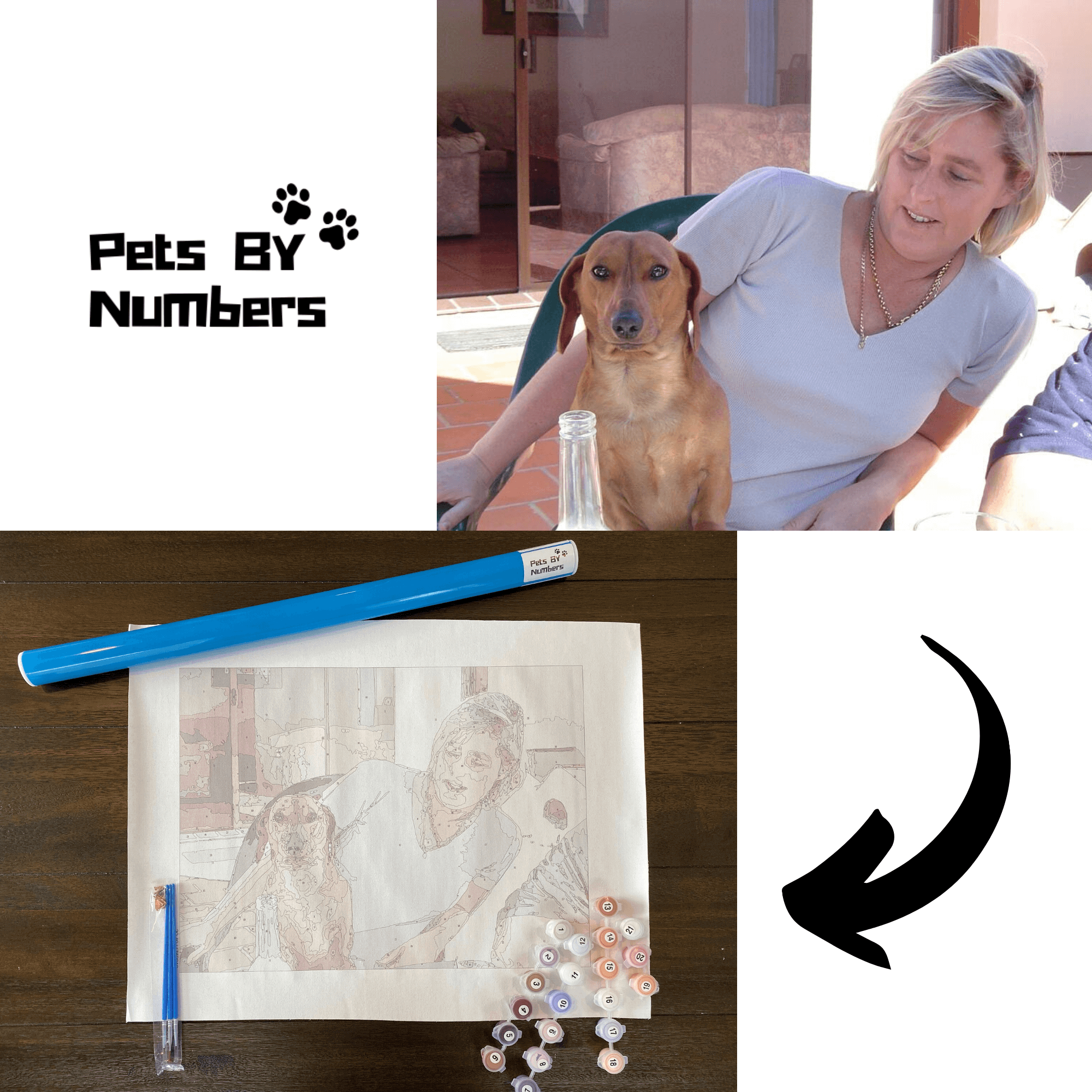 How can you paint your favorite pet?